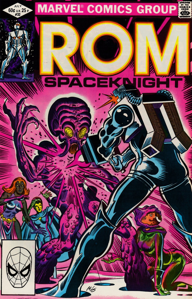 Couverture de Rom Spaceknight (Marvel - 1979) -32- Choosing sides