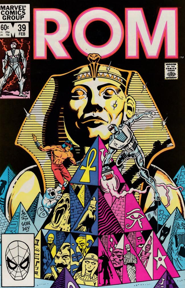 Couverture de Rom (1979) -39- Deathrise!