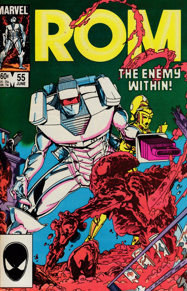 Couverture de Rom (1979) -55- The enemy within