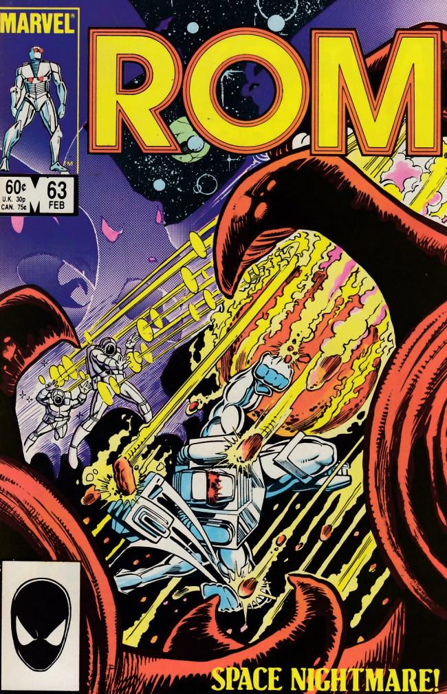 Couverture de Rom (1979) -63- Space-race