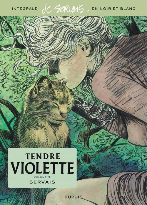 Couverture de Tendre Violette (N&B) -INT03- Volume 3