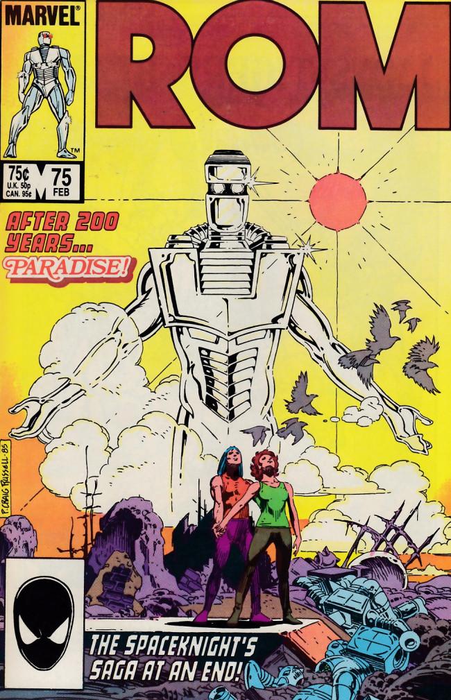 Couverture de Rom (1979) -75- The end!