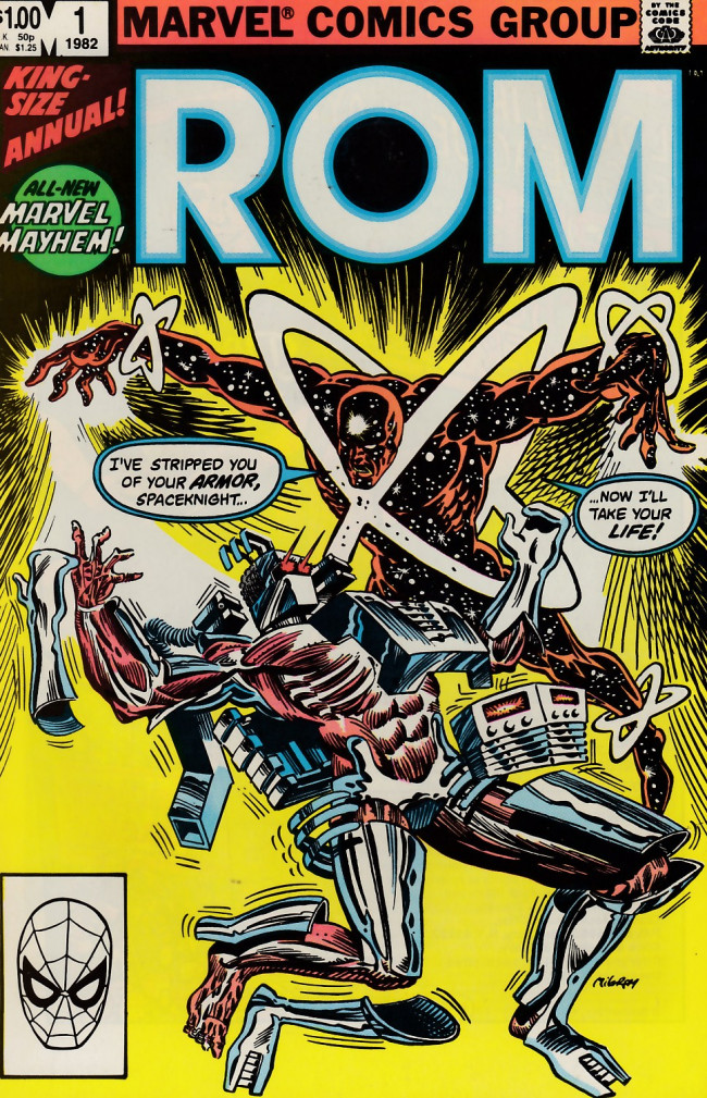 Couverture de Rom (1979) -AN01- It came from beyond the stars