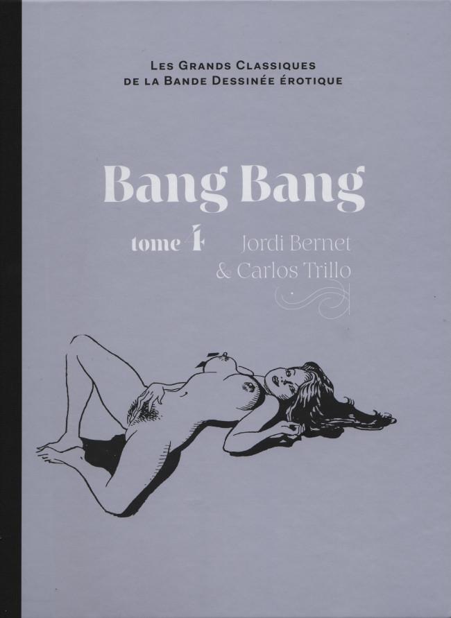 Couverture de Les grands Classiques de la Bande Dessinée érotique - La Collection -5228- Bang Bang - tome 4