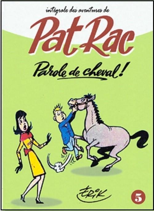 Couverture de Pat Rac reporter -INT5- Parole de cheval