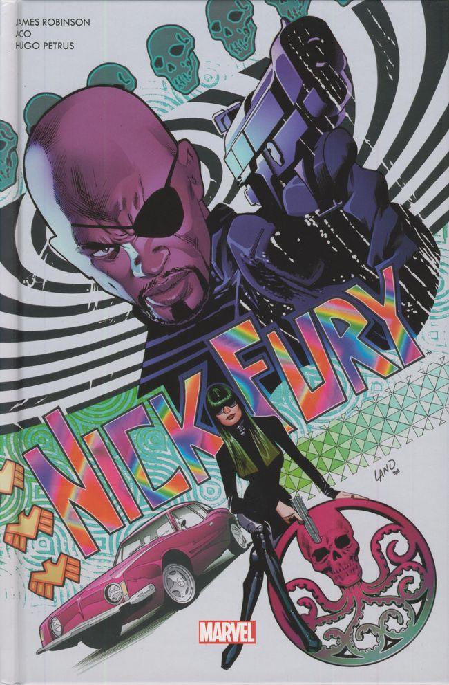Couverture de Nick Fury (100% Marvel - 2018) - Le Train des assassins