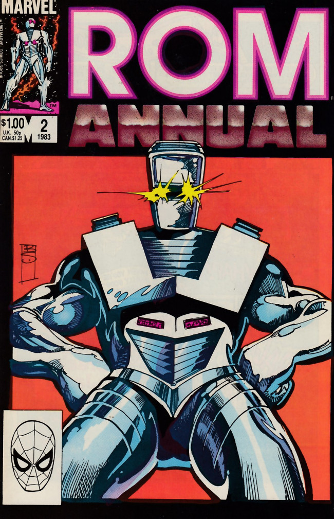 Couverture de Rom (1979) -AN02- To Save a Spaceknight!