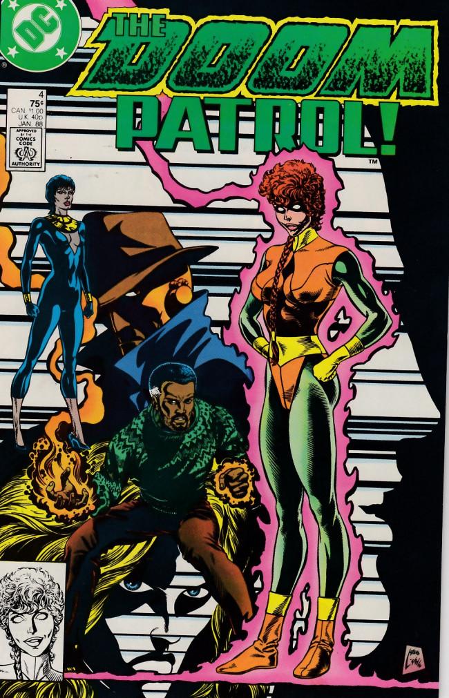Couverture de Doom Patrol Vol.2 (DC Comics - 1987) -4- Trouble in Kansas City