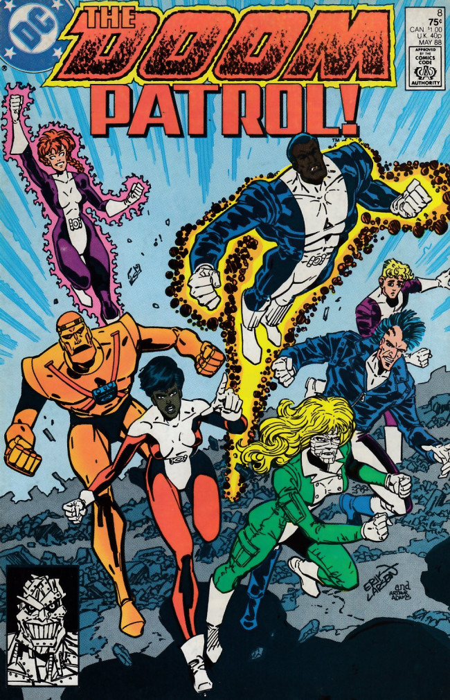 Couverture de Doom Patrol Vol.2 (DC Comics - 1987) -8- The morning after