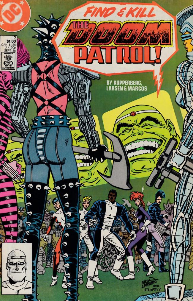 Couverture de Doom Patrol Vol.2 (DC Comics - 1987) -12- Invasion
