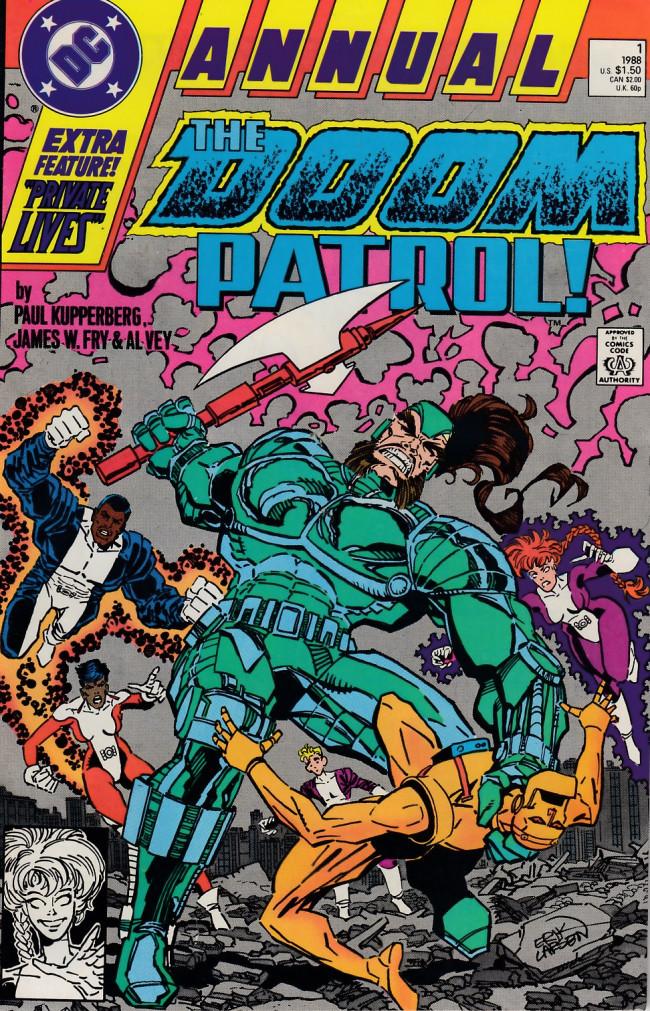 Couverture de Doom Patrol Vol.2 (DC Comics - 1987) -AN01- Public works