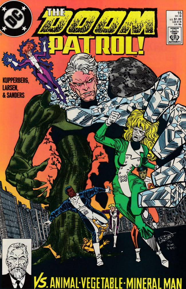 Couverture de Doom Patrol Vol.2 (DC Comics - 1987) -15- Hail to the Chief!