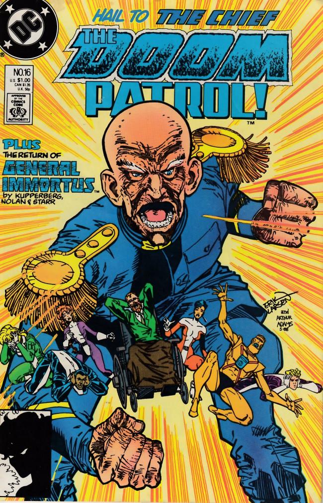 Couverture de Doom Patrol Vol.2 (DC Comics - 1987) -16- Reunion