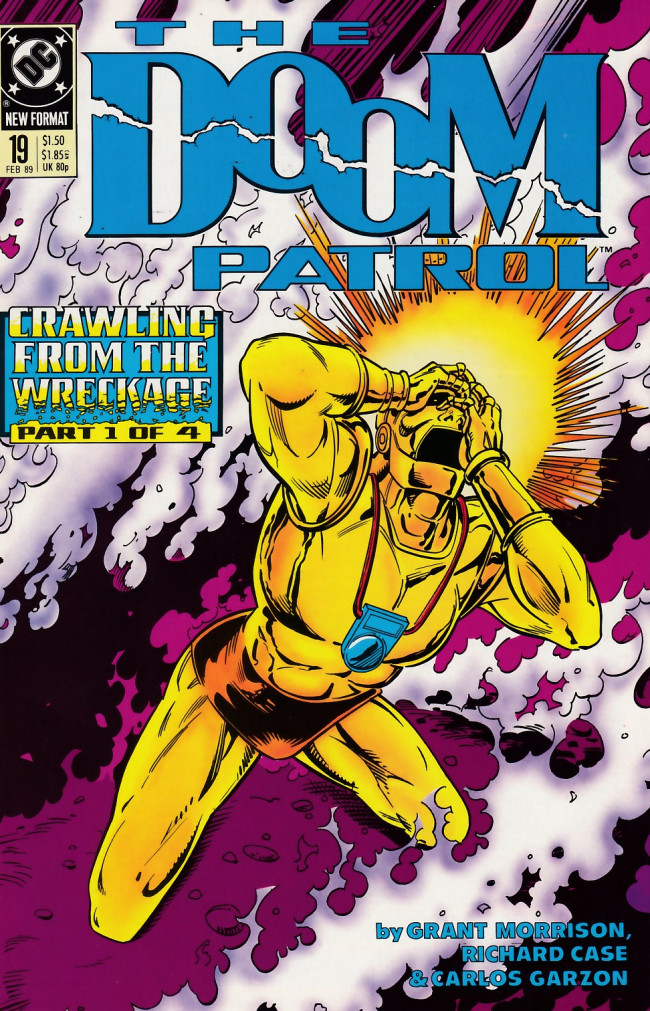 Couverture de Doom Patrol Vol.2 (DC Comics - 1987) -19- Crawling from the wreckage part 1 of 4