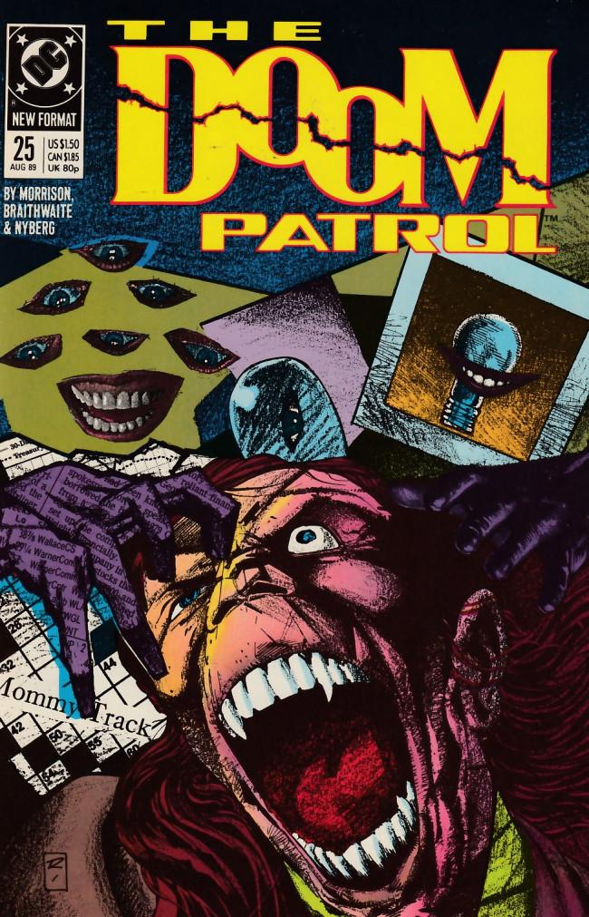 Couverture de Doom Patrol Vol.2 (DC Comics - 1987) -25- Imaginary friends