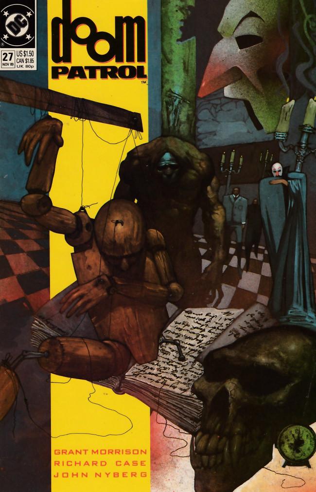 Couverture de Doom Patrol Vol.2 (DC Comics - 1987) -27- The painting that ate Paris