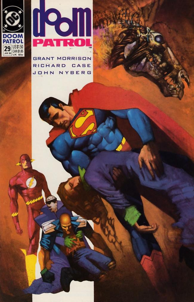 Couverture de Doom Patrol Vol.2 (DC Comics - 1987) -29- The kingdom of No