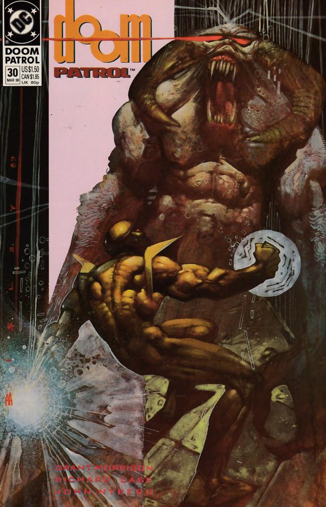 Couverture de Doom Patrol Vol.2 (DC Comics - 1987) -30- Going underground