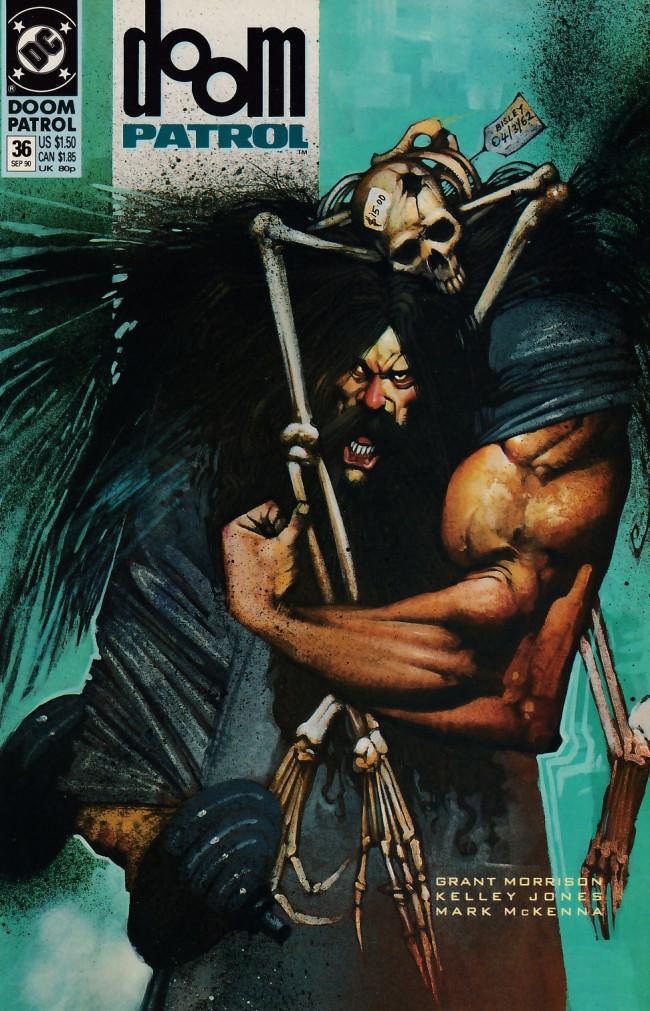 Couverture de Doom Patrol Vol.2 (DC Comics - 1987) -36- Box of delights