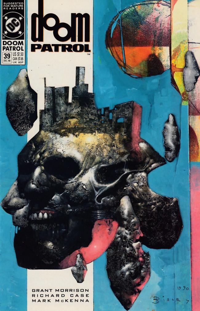 Couverture de Doom Patrol Vol.2 (DC Comics - 1987) -39- Bell, book, and candle