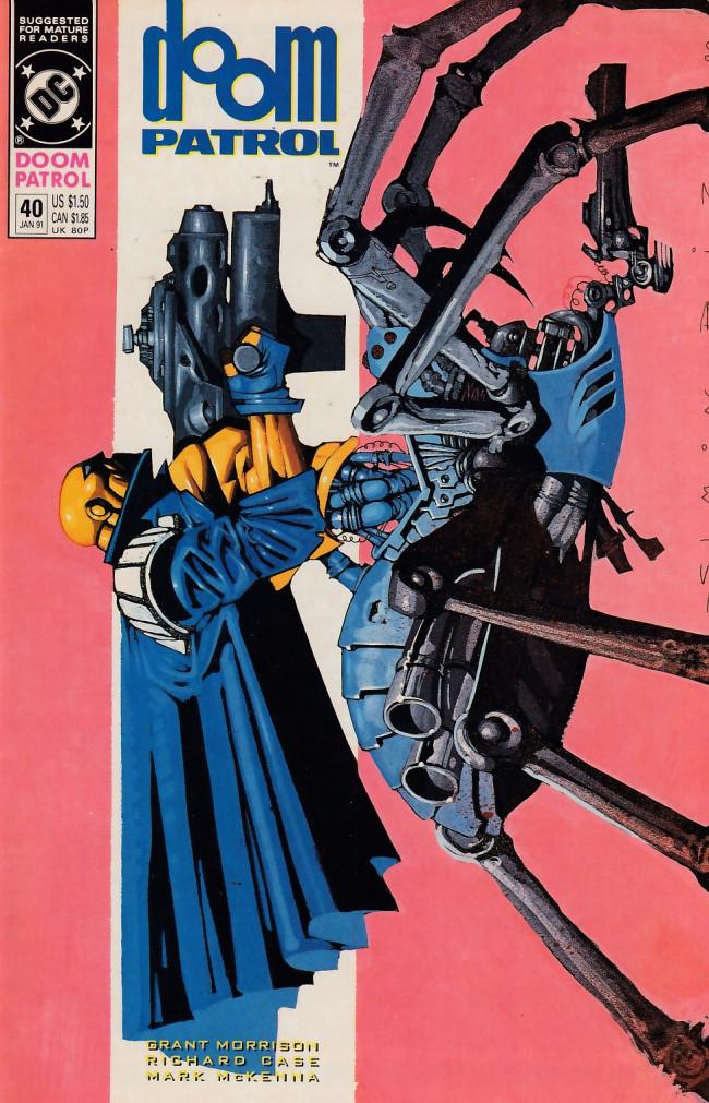 Couverture de Doom Patrol Vol.2 (DC Comics - 1987) -40- Battlefield of dreams
