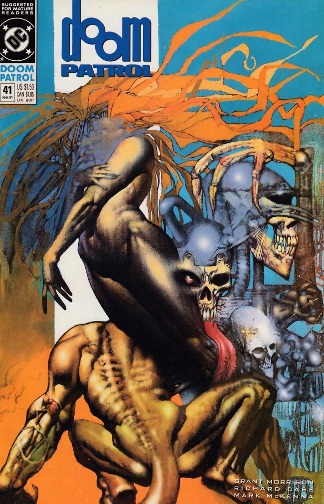 Couverture de Doom Patrol Vol.2 (DC Comics - 1987) -41- Fallen angel