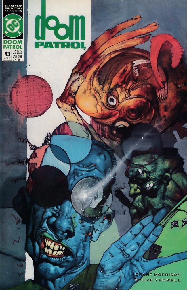 Couverture de Doom Patrol Vol.2 (DC Comics - 1987) -43- Anyhow stories