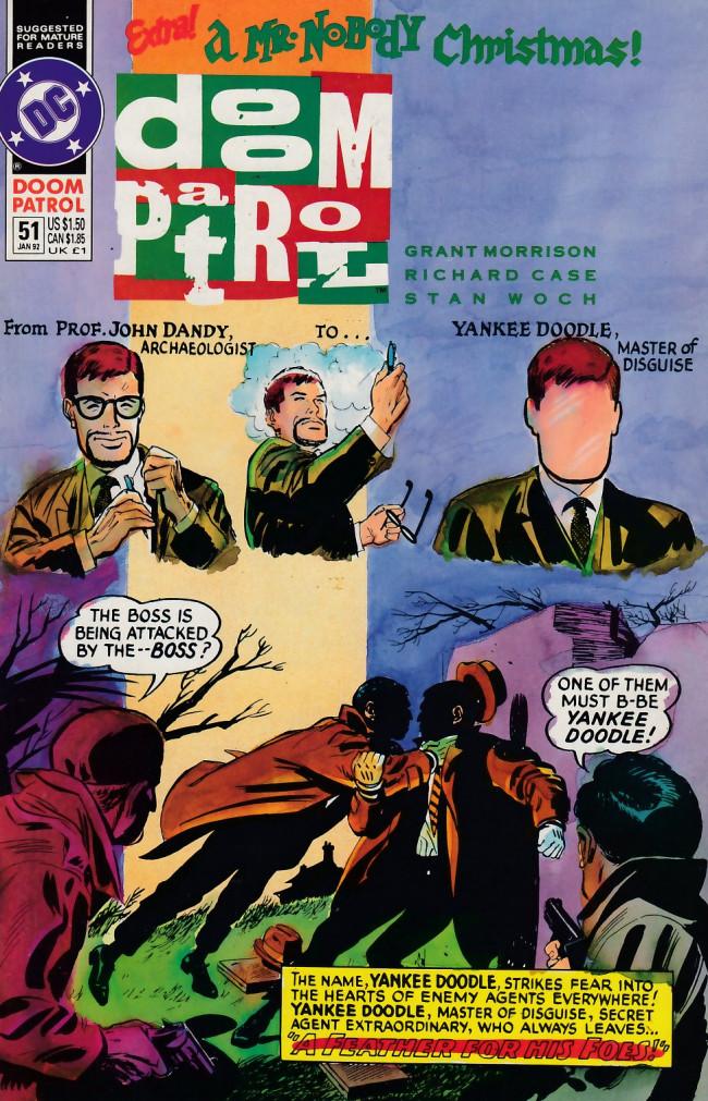 Couverture de Doom Patrol Vol.2 (DC Comics - 1987) -51- Magic bus