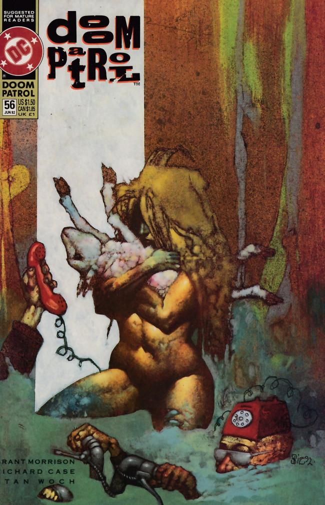 Couverture de Doom Patrol Vol.2 (DC Comics - 1987) -56- Down in the well
