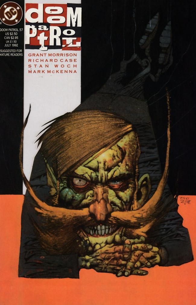Couverture de Doom Patrol Vol.2 (DC Comics - 1987) -57- The nature of the catastrophe