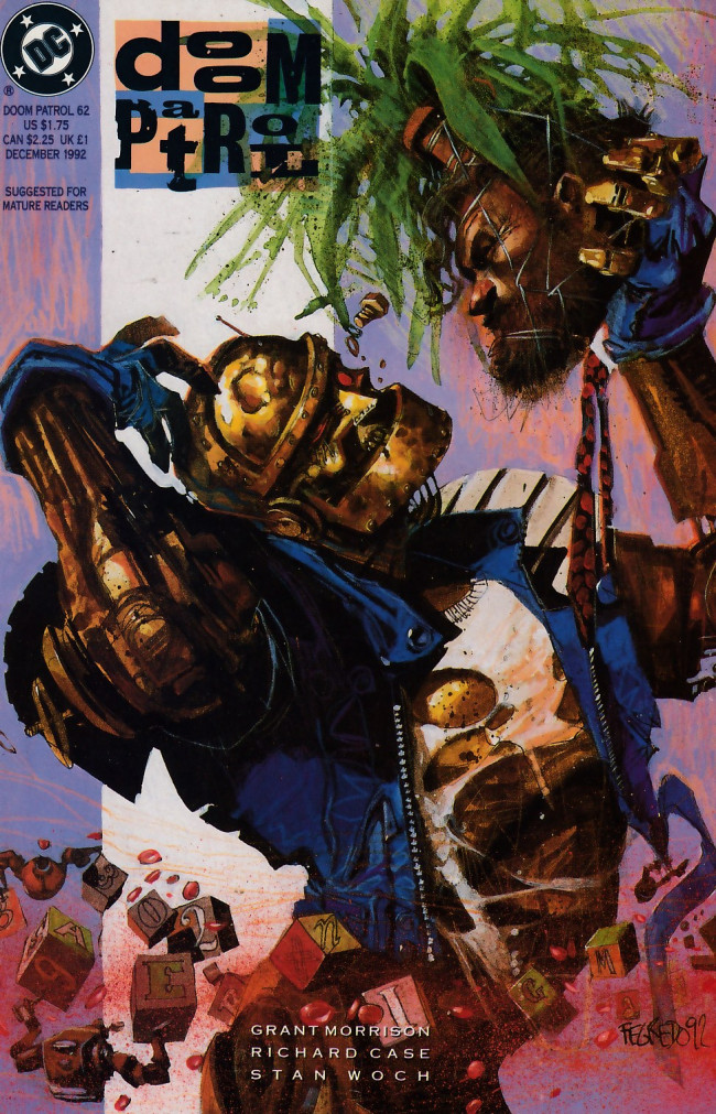 Couverture de Doom Patrol Vol.2 (DC Comics - 1987) -62- Planet Love