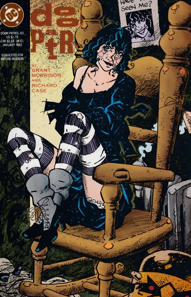 Couverture de Doom Patrol Vol.2 (DC Comics - 1987) -63- The empire of chairs