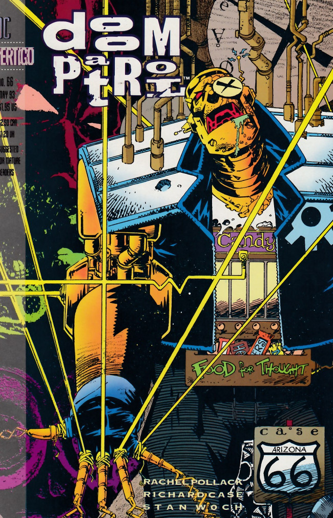 Couverture de Doom Patrol Vol.2 (DC Comics - 1987) -66- Sliding in the wreckage part three: The pig it was that lived