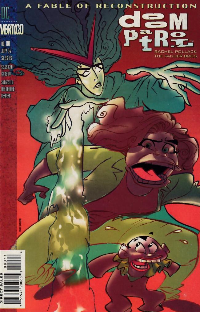 Couverture de Doom Patrol Vol.2 (DC Comics - 1987) -80- The dogs of soul