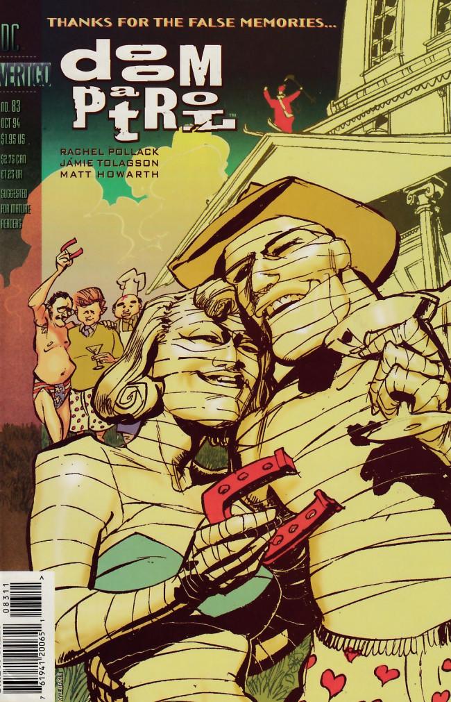 Couverture de Doom Patrol Vol.2 (DC Comics - 1987) -83- Remembrance of lives passed
