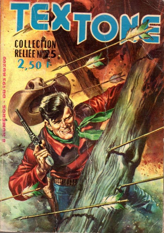 Couverture de Tex-Tone -Rec25- Collection reliée N°25 (du n°193 au n°200)