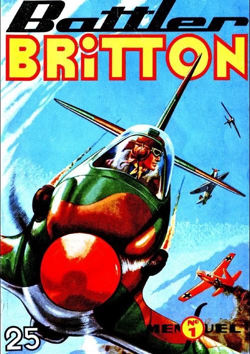 Couverture de Battler Britton -1- Le convoi de malte