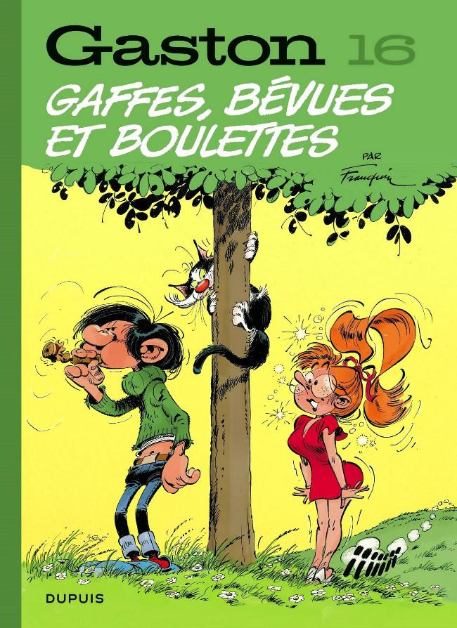 Couverture de Gaston (Édition 2018) -16- Gaffes, bévues et boulettes