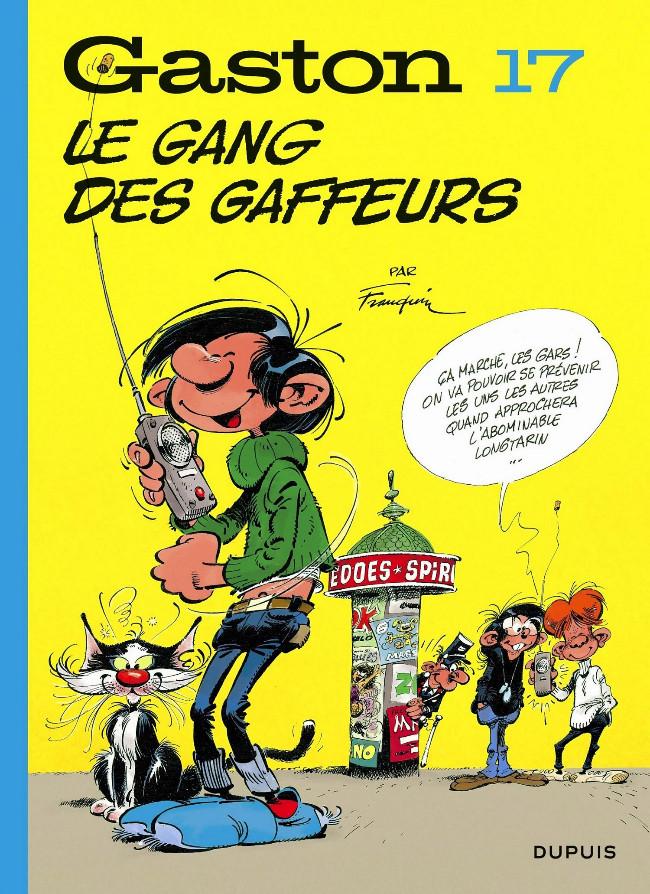 Couverture de Gaston (Édition 2018) -17- Le gang des gaffeurs