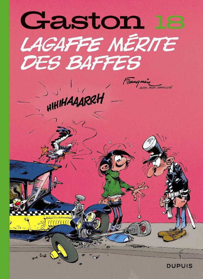 Couverture de Gaston (Édition 2018) -18- Lagaffe mérite des baffes