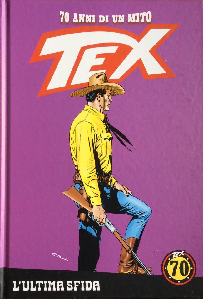 Couverture de Tex (70 anni di un mito) -8- l'ultima sfida /la banda dei Dalton