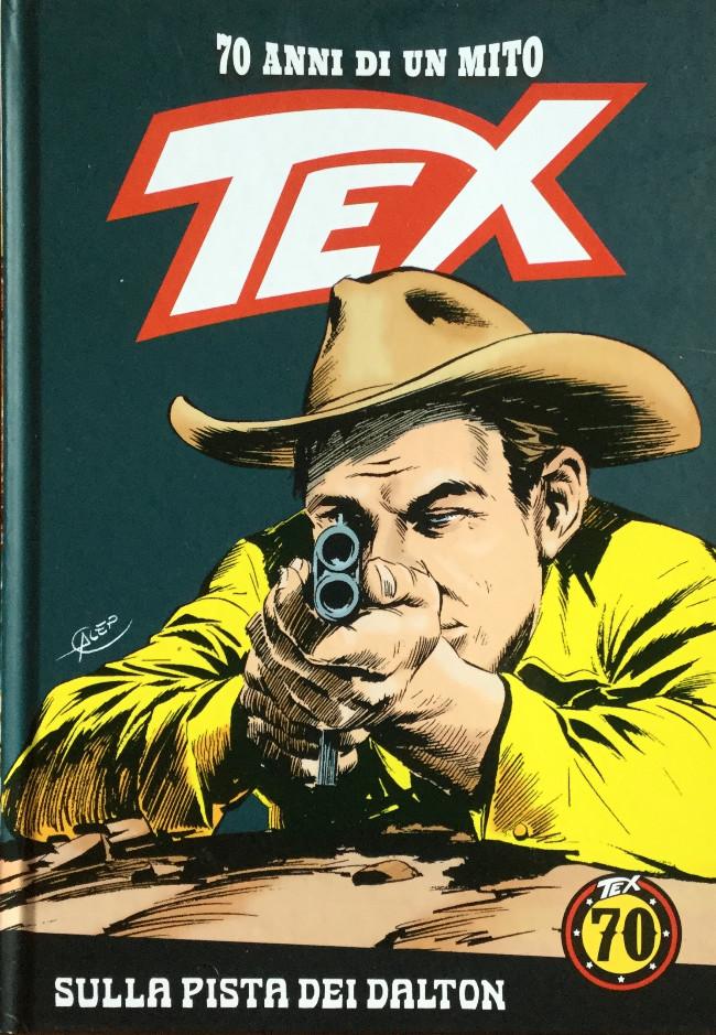 Couverture de Tex (70 anni di un mito) -9- Sulla pista dei Dalton / Orgoglio navajo