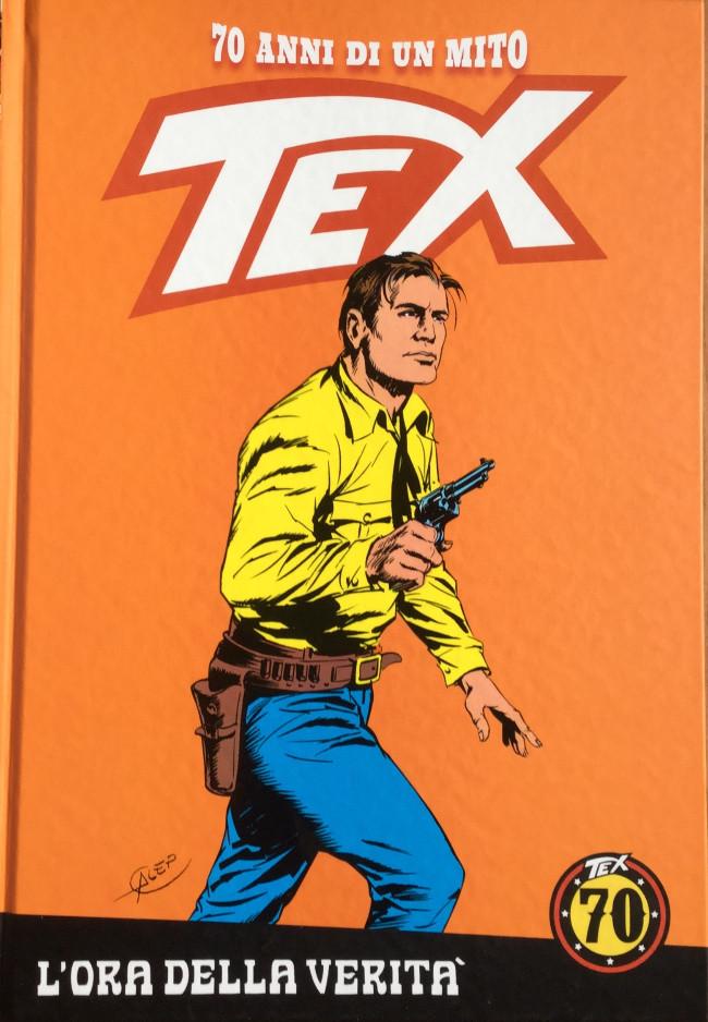 Couverture de Tex (70 anni di un mito) -15- L'ora della verità /Tra due bandiere