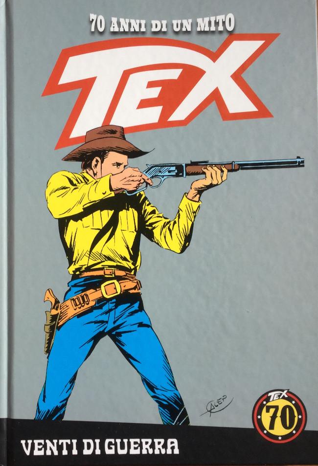 Couverture de Tex (70 anni di un mito) -16- Venti di guerra