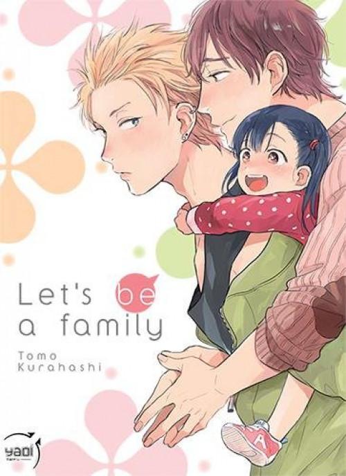 Couverture de Let's be a family