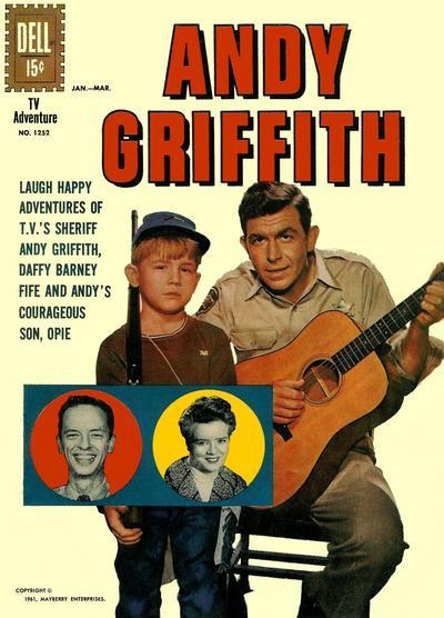 Couverture de Four Color Comics (Dell - 1942) -1252- Andy Griffith