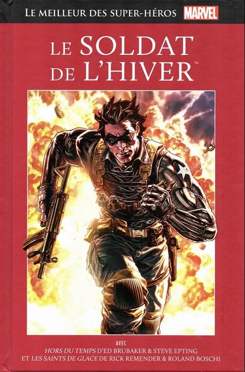 Couverture de Marvel Comics : Le meilleur des Super-Héros - La collection (Hachette) -59- Le soldat de l'hiver