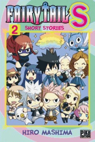 Couverture de Fairy Tail S - short stories -2- Tome 2
