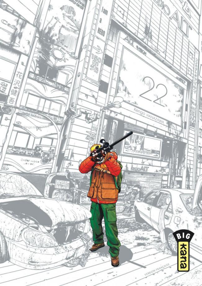 Couverture de I am a hero -22- Tome 22