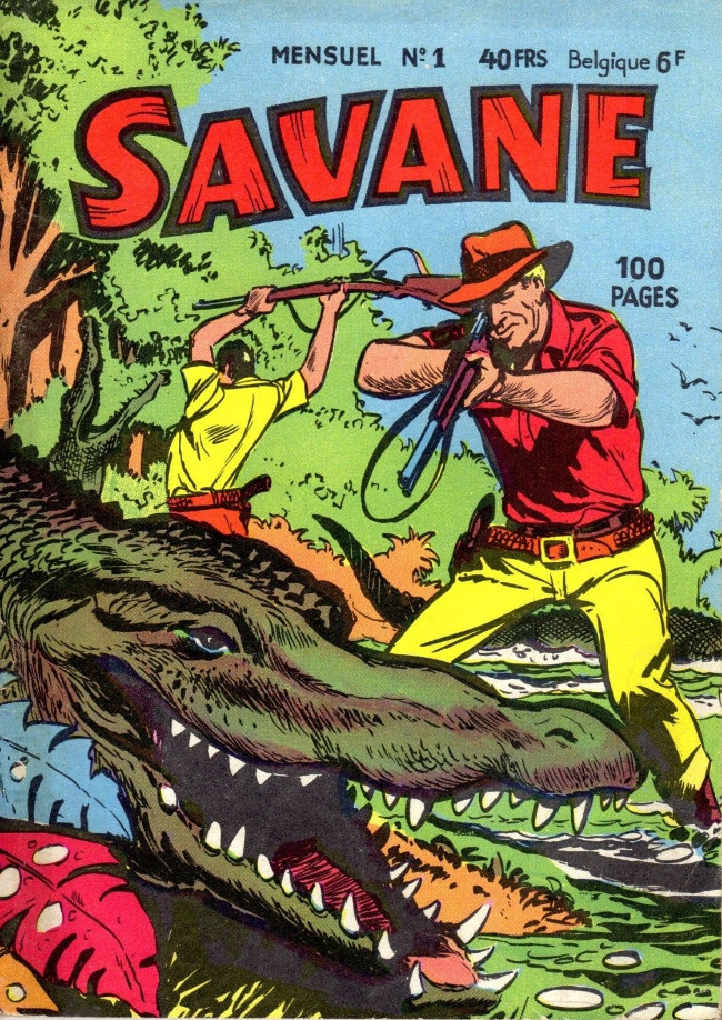 Couverture de Savane (SFPI) -1- Finie la comédie...
